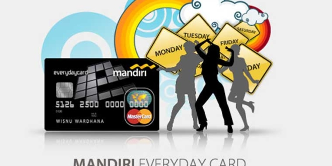 Berapa Limit Kartu Kredit Mandiri Everyday?